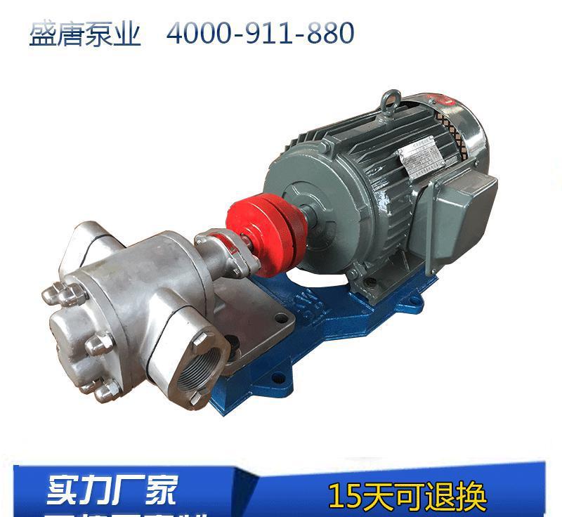实力 齿轮泵 硬齿面 不锈钢渣油泵 zyb-83.3m3型
