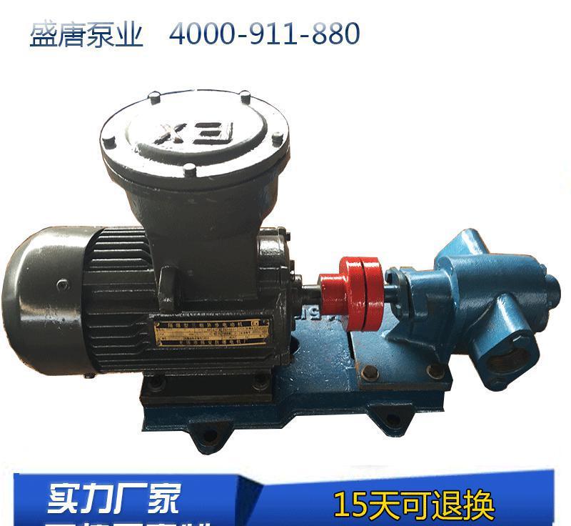 盛唐泵业 zyb渣油泵 zyb-2m3/33.3/0.33