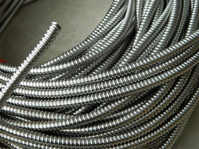 宁夏供应性价比 福莱通品牌单扣不锈钢金属软管、配电箱软管 价格优惠电线电缆附件