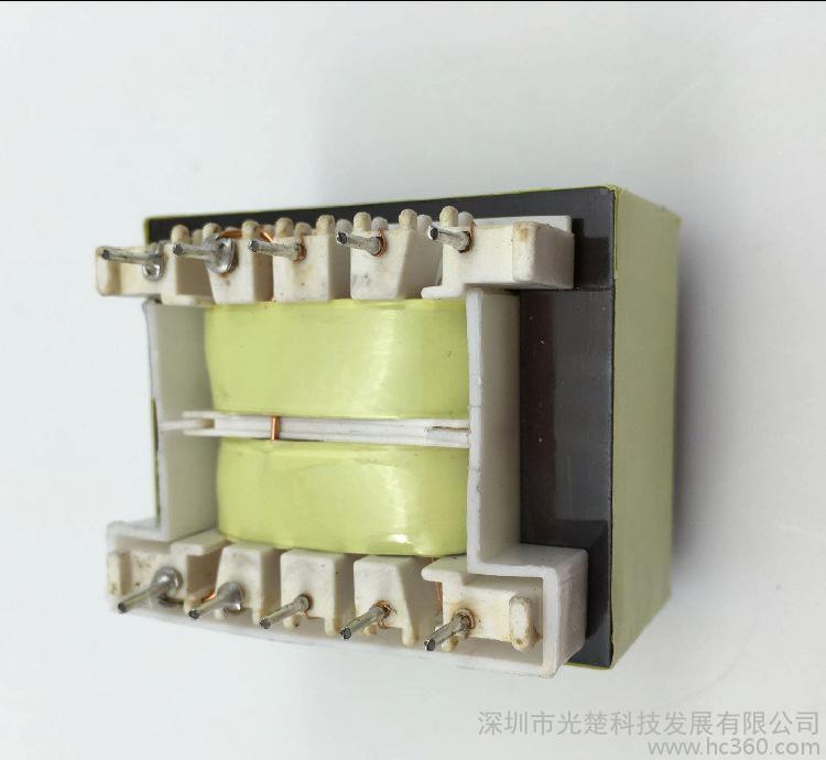 深圳光楚科技变压器工厂直销低频电源控制EI型变压器 EI48插针10W智能控制板用 电源变压器
