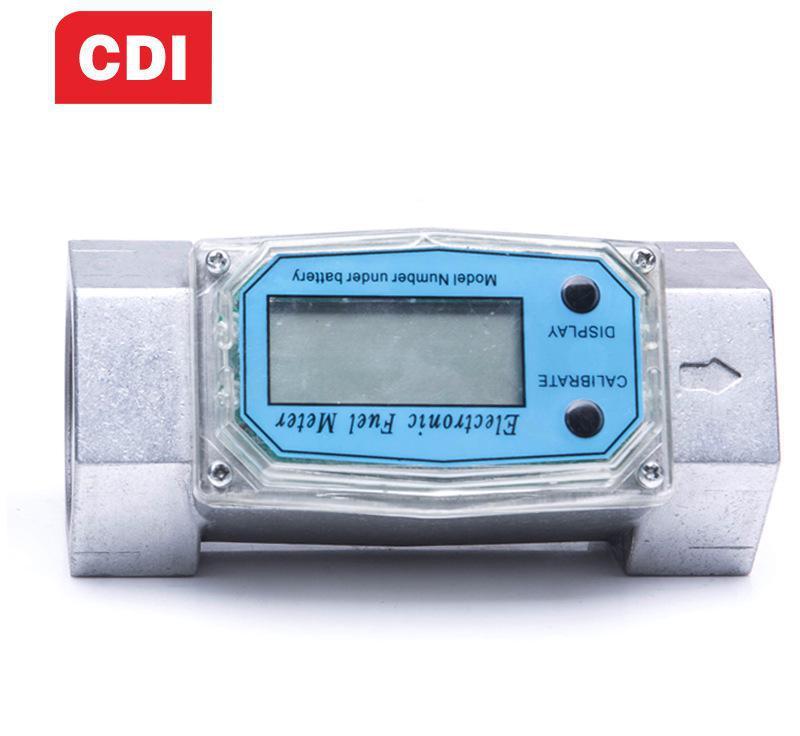 CDI 电子流量计 6分/1寸/1.5寸流量表柴油汽油煤油甲醇计量流量计