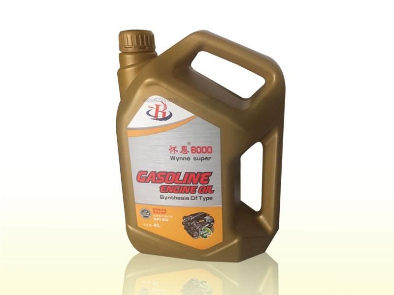 怀恩6000 SG 4L机油 15W-40 汽油机油 车用润滑油