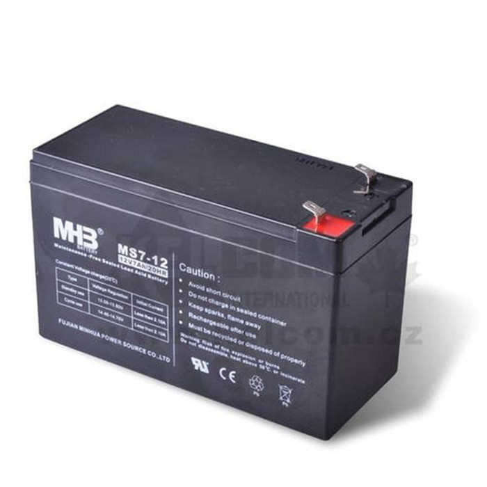 MHB蓄电池MM12-12闽华蓄电池12V12AH阀控式铅酸蓄电池 UPS蓄电池 EPS直流屏电池 高低压配电柜电池