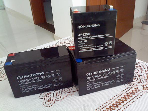蓄电池铅酸免维护蓄电池12AH12V照明用 EPS应急电源柜UPS电池
