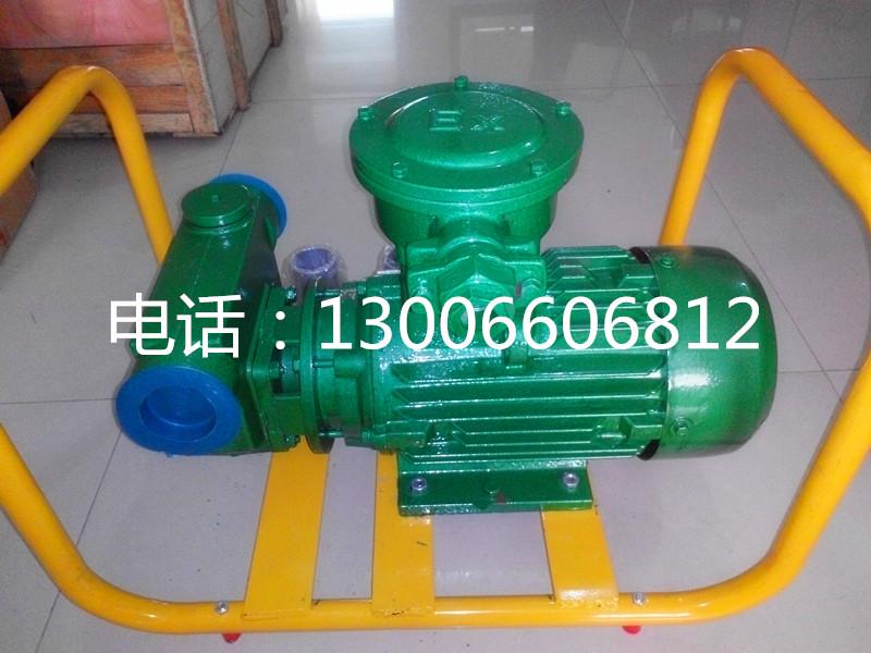 导油泵输油泵柴油泵防爆汽油泵380V抽油泵2寸三相叶片泵自吸泵