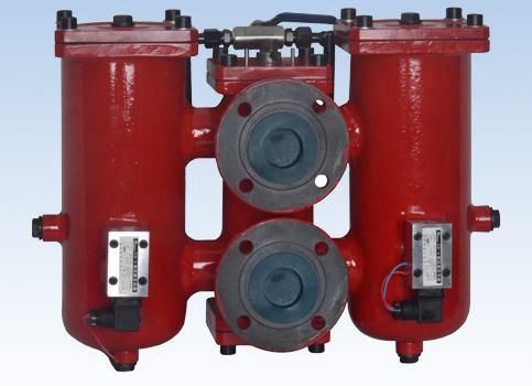SRLF系列双筒回油管路过滤器SRLF-500×*P 油滤器