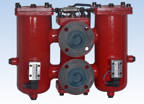 SRLF系列双筒回油管路过滤器SRLF-160×*P 油滤器