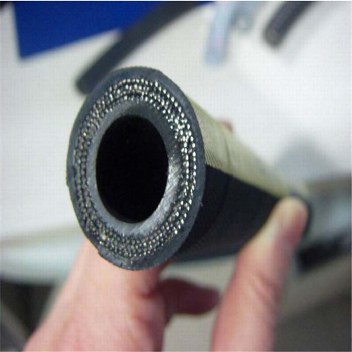 佰源 DN13高压油管  蒸汽胶管   3层高压钢丝编织胶管  液压接头  厂价直供
