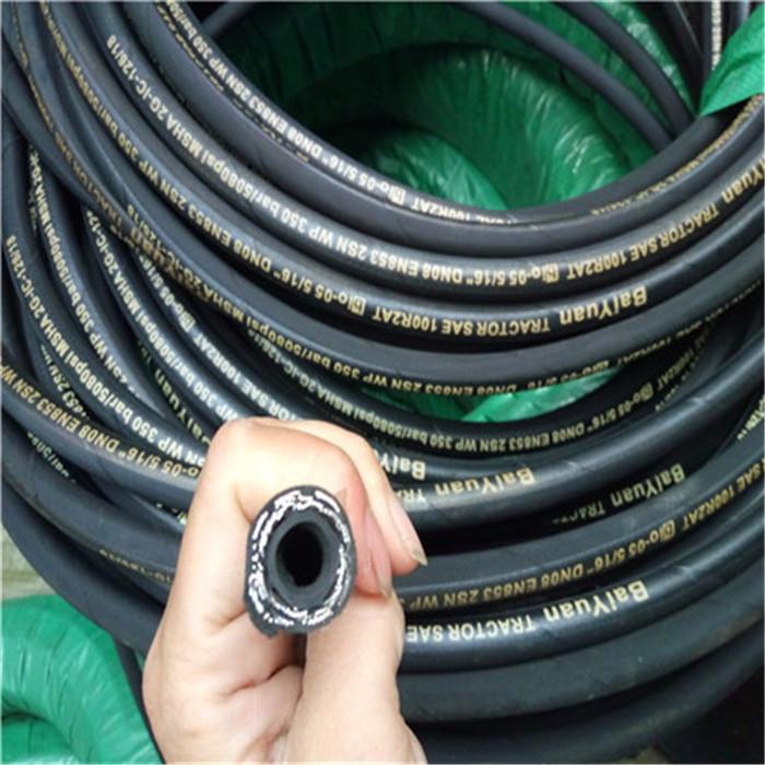 高压橡胶管 高压橡胶软管 高压油管 高压橡胶油管 破碎锤高压胶管