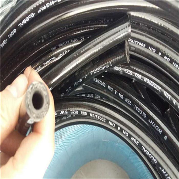 佰源  高压耐磨型胶管 柴油机油汽油管  高压软管 液压软管 量大优惠