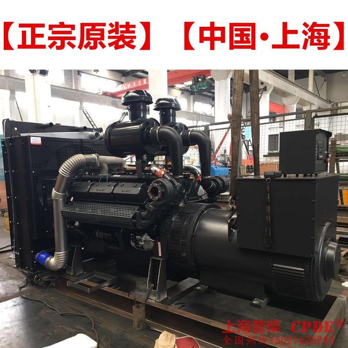 上海普柴SC25G610D2柴油发电机组, 常用360kw上柴柴油发电机组