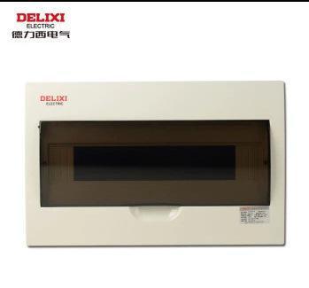 德力西 低压配电箱 PZ50-12回路 家用布电箱 暗装