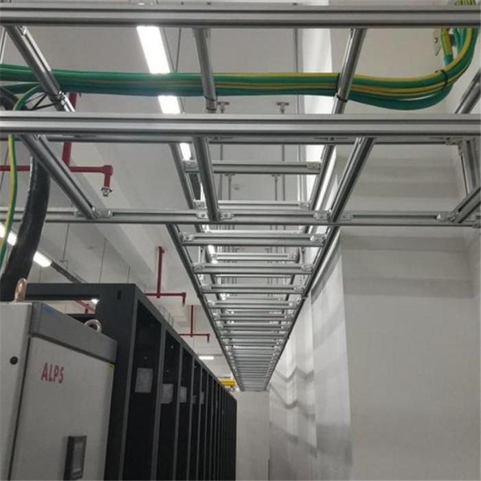 铝合金走线架 新式走线架 网络走线桥架 电缆桥架 梯形桥架
