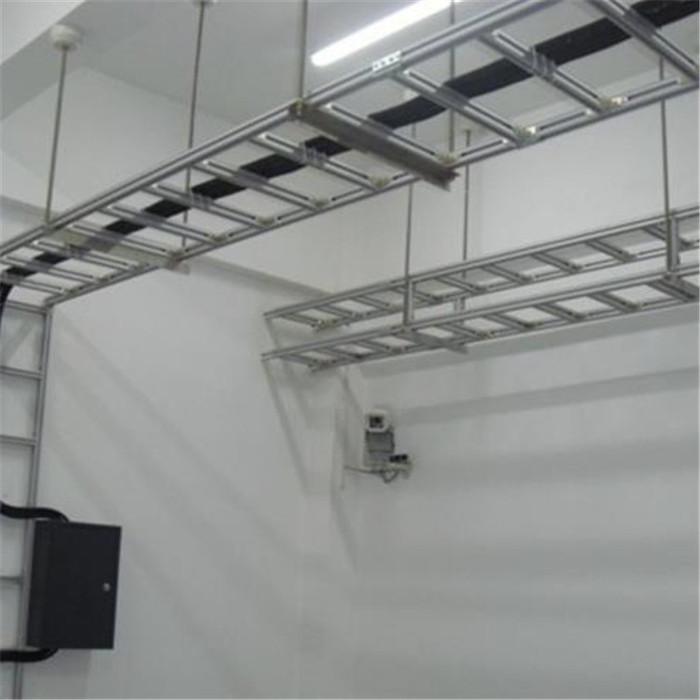 厂家供应 槽式铝合金桥架 机房走线架 U型钢走线架 工程电缆桥架 质量