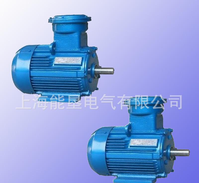 供应上海能垦YB2-80M1-2 0.75KW隔爆型三相异步立式电动机