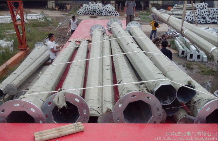 避雷塔 变电站避雷塔 13米环形钢管避雷针