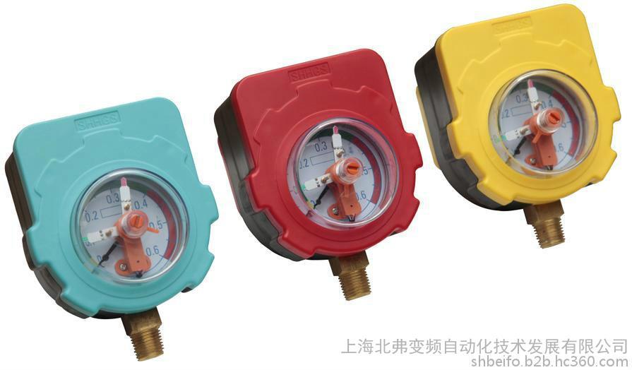 低压电器压力开关可调试压力表 可调式压力表