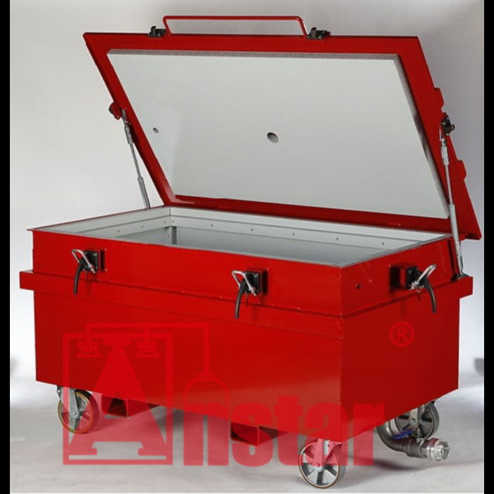 安士达锂电池应急电源柜灭火系统 电源柜着火怎么办 动力电池火灾