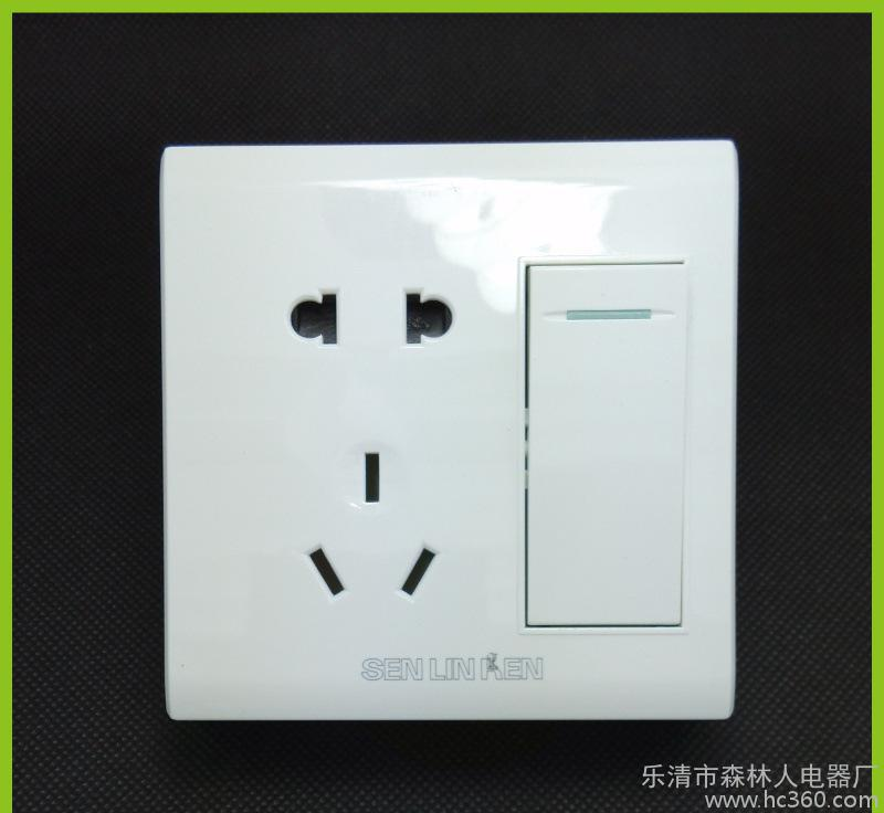 明装十孔插座阻燃PC材质电器插座爆款插座代理