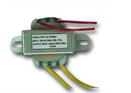 电源变压器 音频变压器 9V600MA低频变压器 深圳镁庆电源变压器