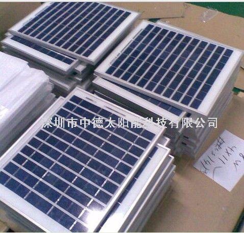 30w太阳能电池板 太阳能光伏发电系统 中德太阳能电池板供应厂家
