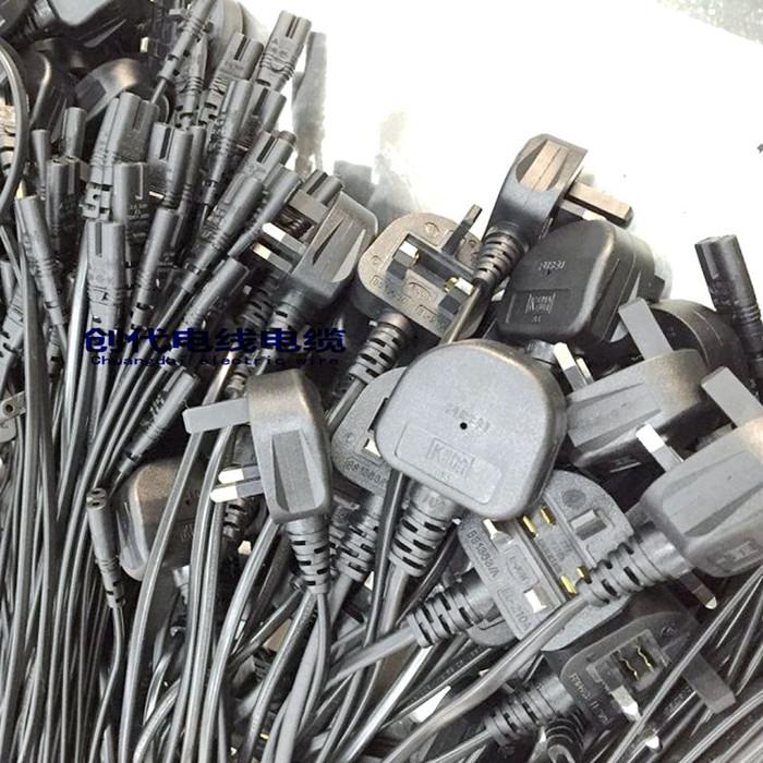 三芯电源线ac插头线 美标 欧规 巴西 瑞士 日本南非插头电源线