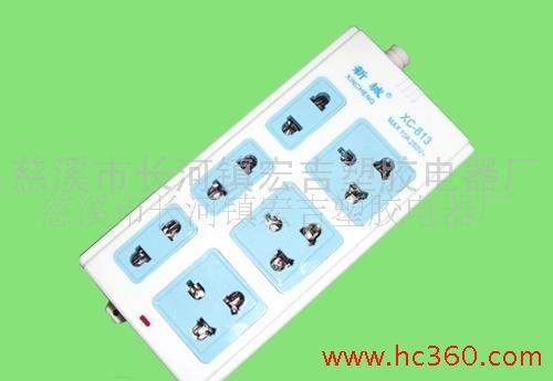 XC-813移动插座、电源插座、插排、接线插座