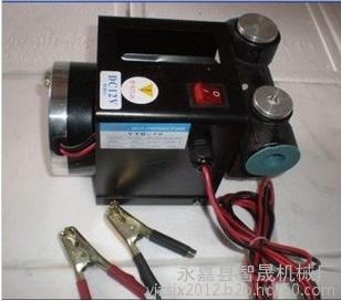 12V/24V大流量自吸电动加油泵 大流量柴油泵 抽油泵550W