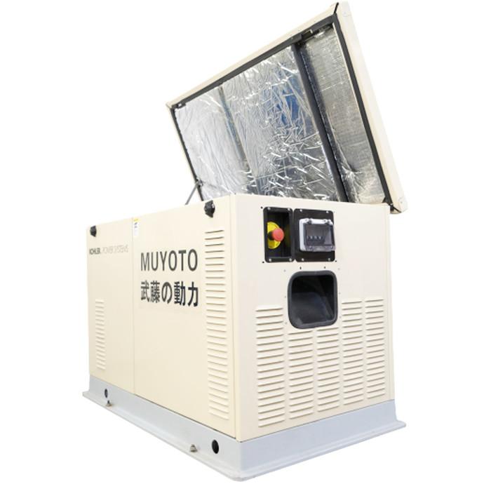 双缸武藤发电机350kw 全自动柴油发电机组