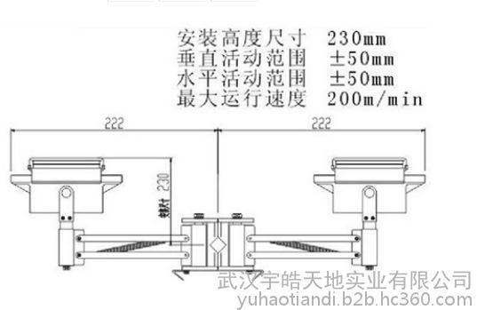 其他配电输电设备 武汉汉发系列2*250A重型集电器